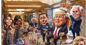 В четырех зарубежных изданиях появились карикатуры на Путина